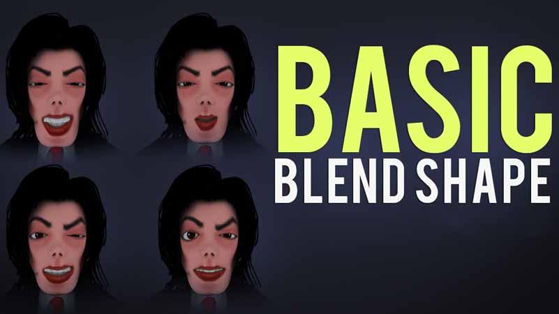 การ Blend Shape แอนิเมชัน คือ