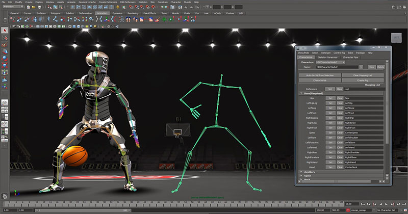 3D animation-